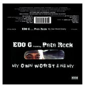 Image of EDO.G FEATURING PETE ROCK MY OWN WORST ENEMY Cassette reissue