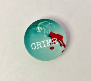 Image of Wine & Crime PopSocket