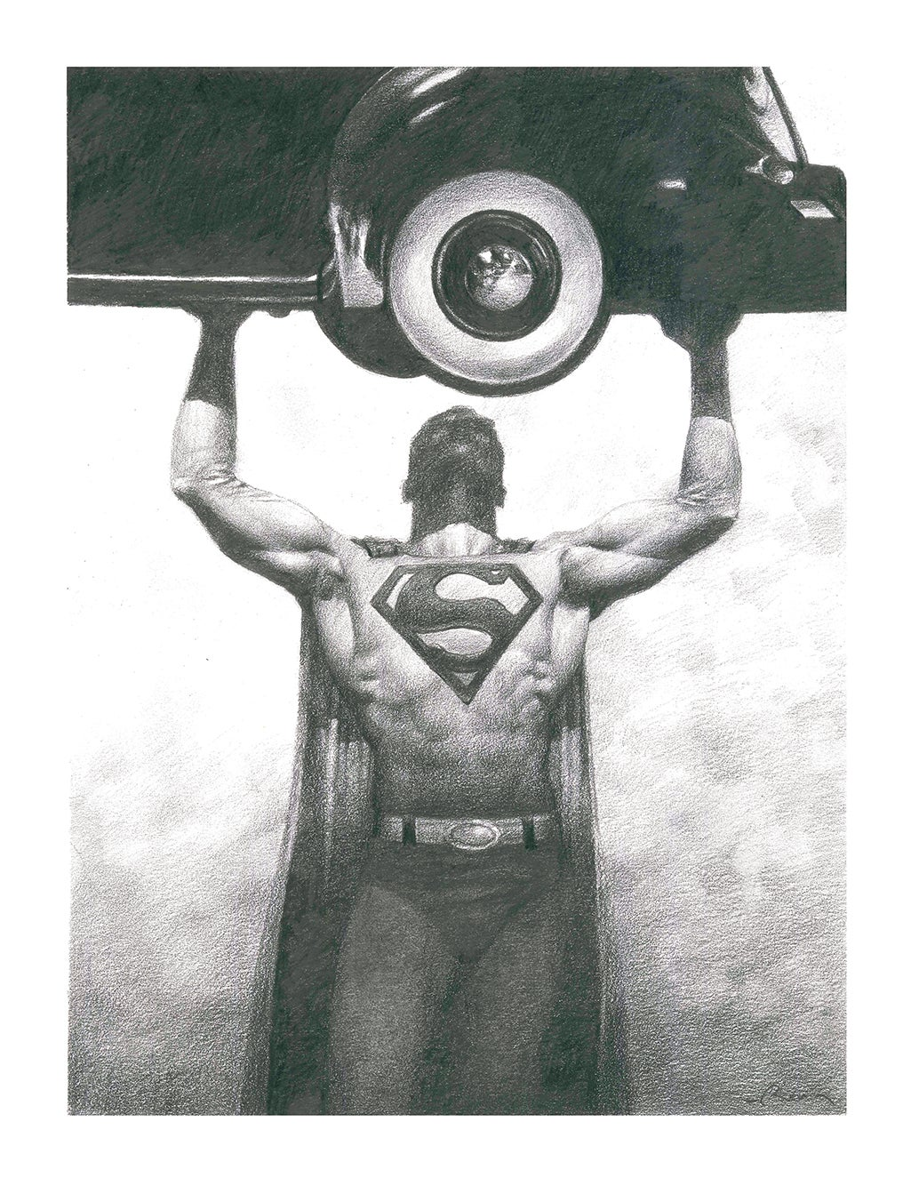 "Image of ""SUPERMAN"" prints"
