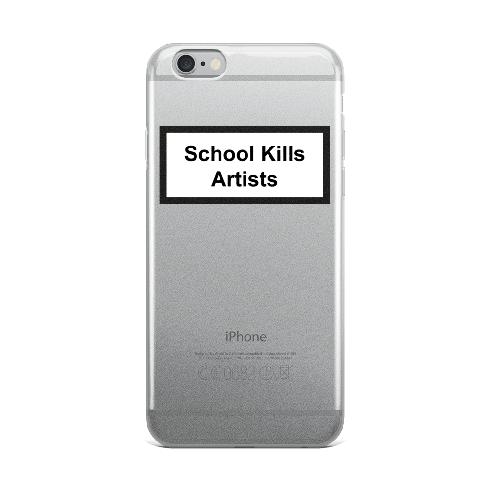 Image of School Kills Artists - Phone Case for iPhone and Samsung