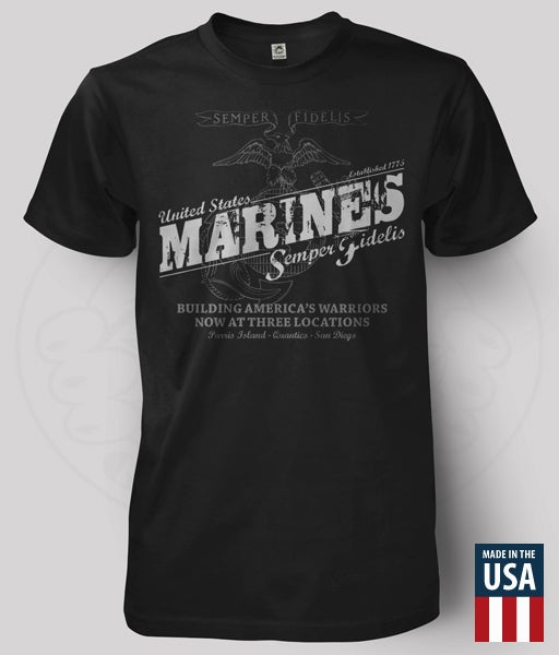 Image of USMC - WARRIOR BUILDER T-SHIRT