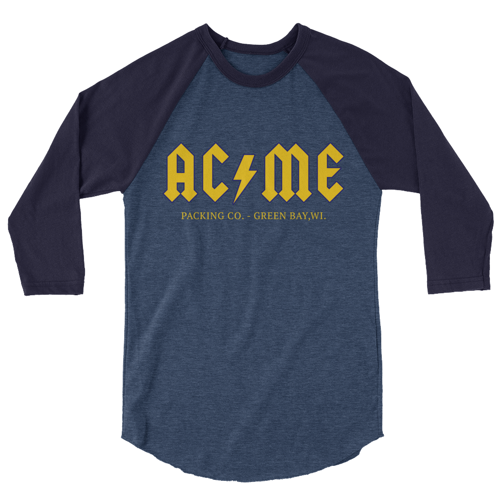 Image of ACME Packing Co. 3/4 Sleeve Raglan