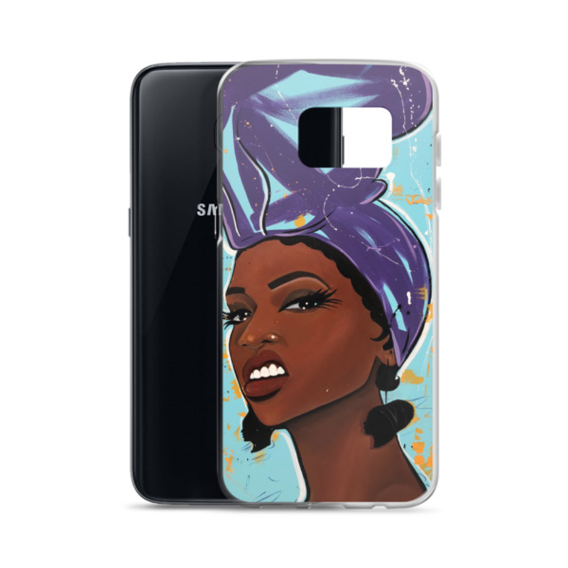 Image of Purple Try Me Samsung Case