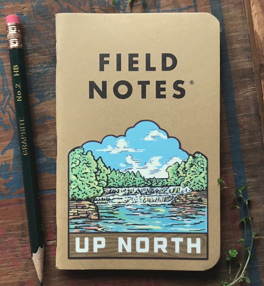 Image of Up North Vinyl Sticker