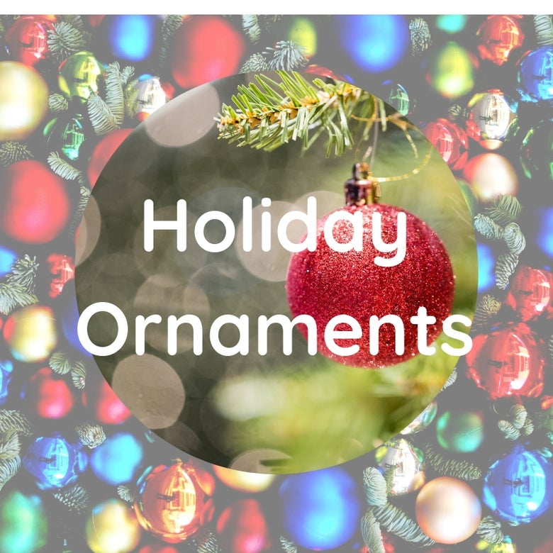 Image of Holiday Ornaments!