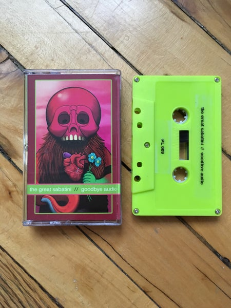 Image of The Great Sabatini - Goodbye Audio (cassette)