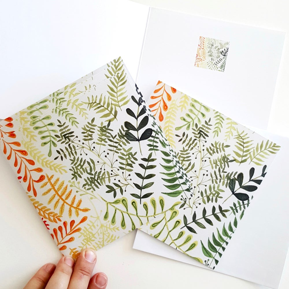 Image of LEAF LOVELY GREETING CARD