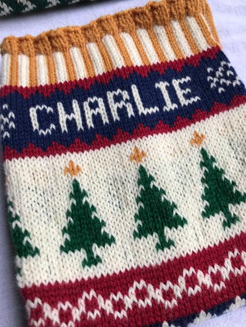 Image of Christmas Tree Christmas Stocking