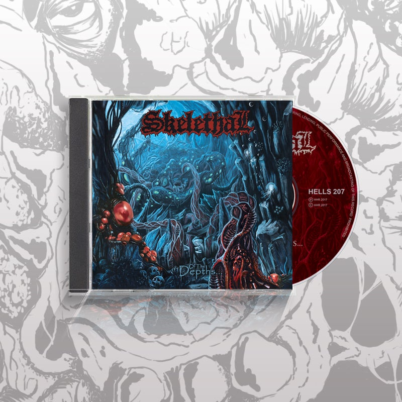 Image of Of the Depths... Cd