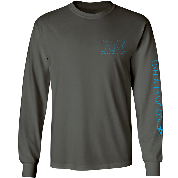 Image of HNB Long Sleeve (gun metal)