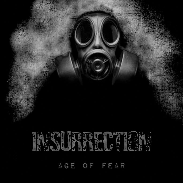 Image of INSURRECTION - AGE OF FEAR LTD SPLATTER VINYL LP