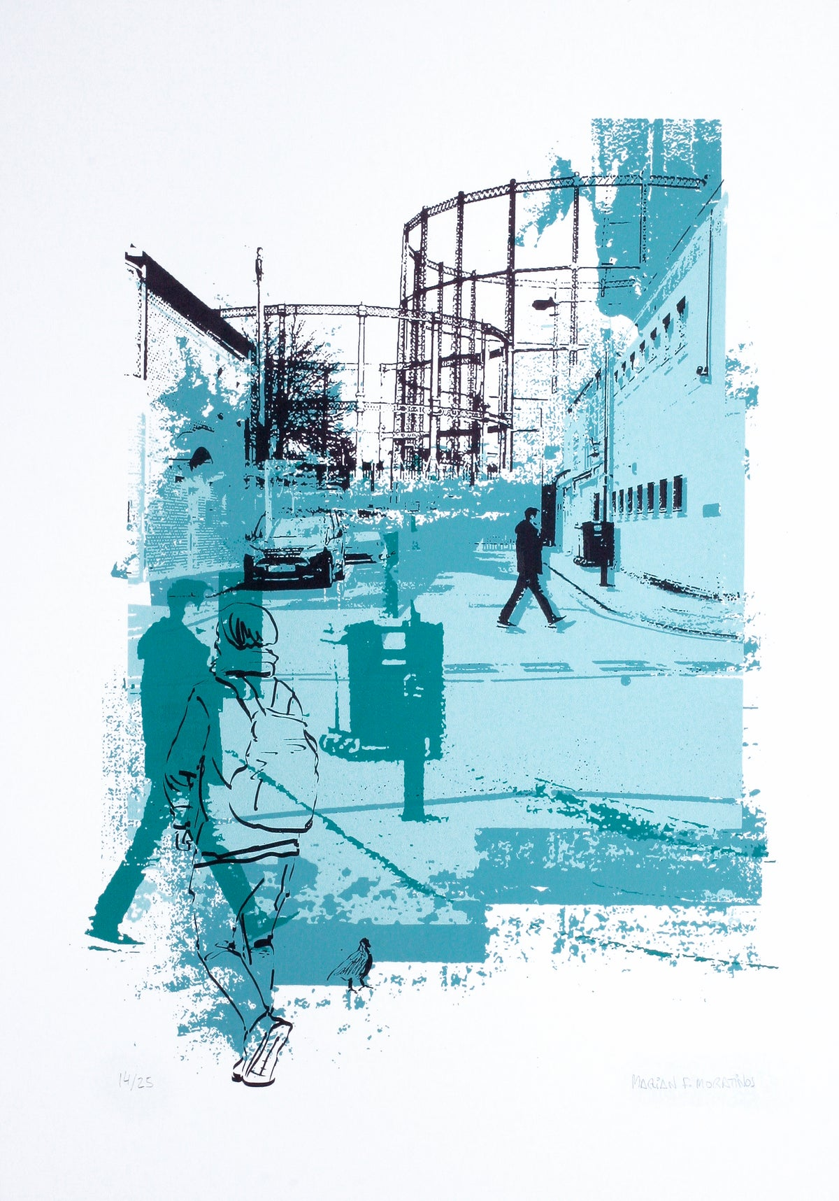 Image of Hackney Gasometers