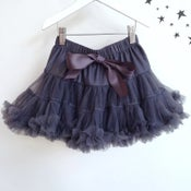 Image of Charcoal Grey Tutu Skirt