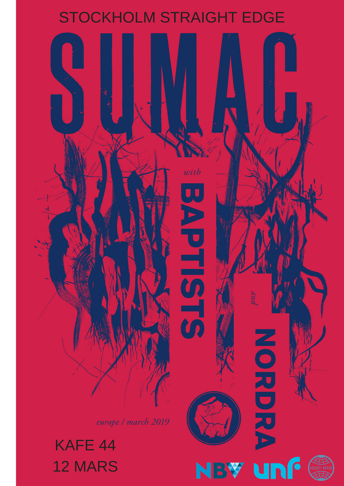 Image of SUMAC + BAPTISTS + NORDRA 12/3
