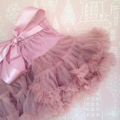 Image of Dusky Pink Tutu Skirt