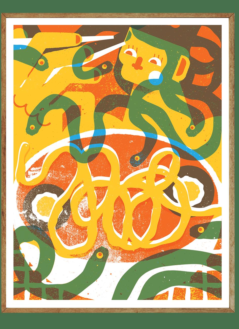 Image of Ramen Medusa