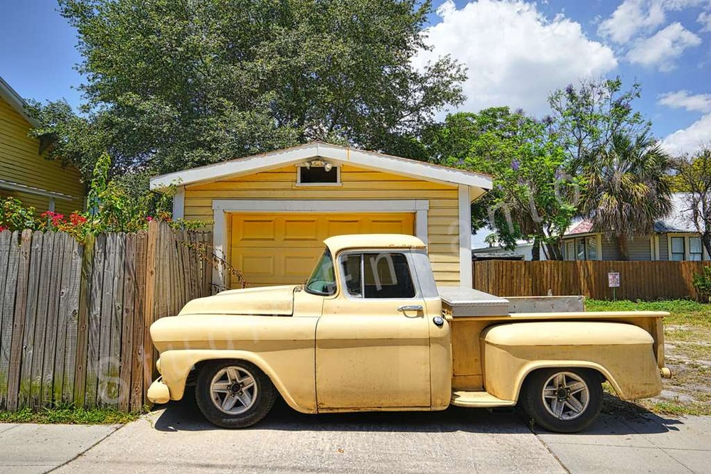 Image of Yellow Truck by Cal Brown