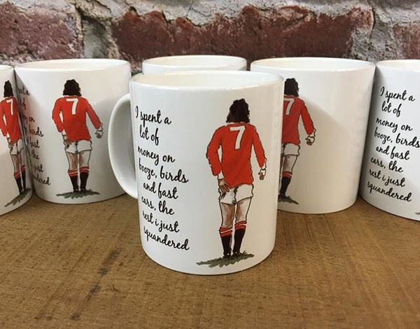 Image of George Best quote mug