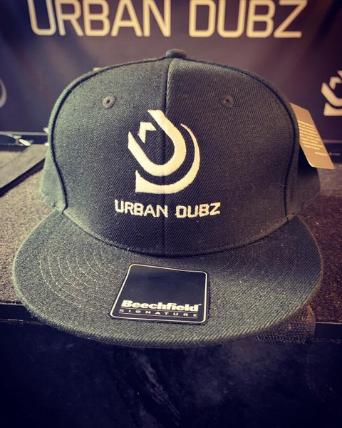 Image of Urban Dubz Black Snapback Cap