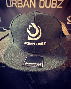 Image of Urban Dubz Black Snapback Cap
