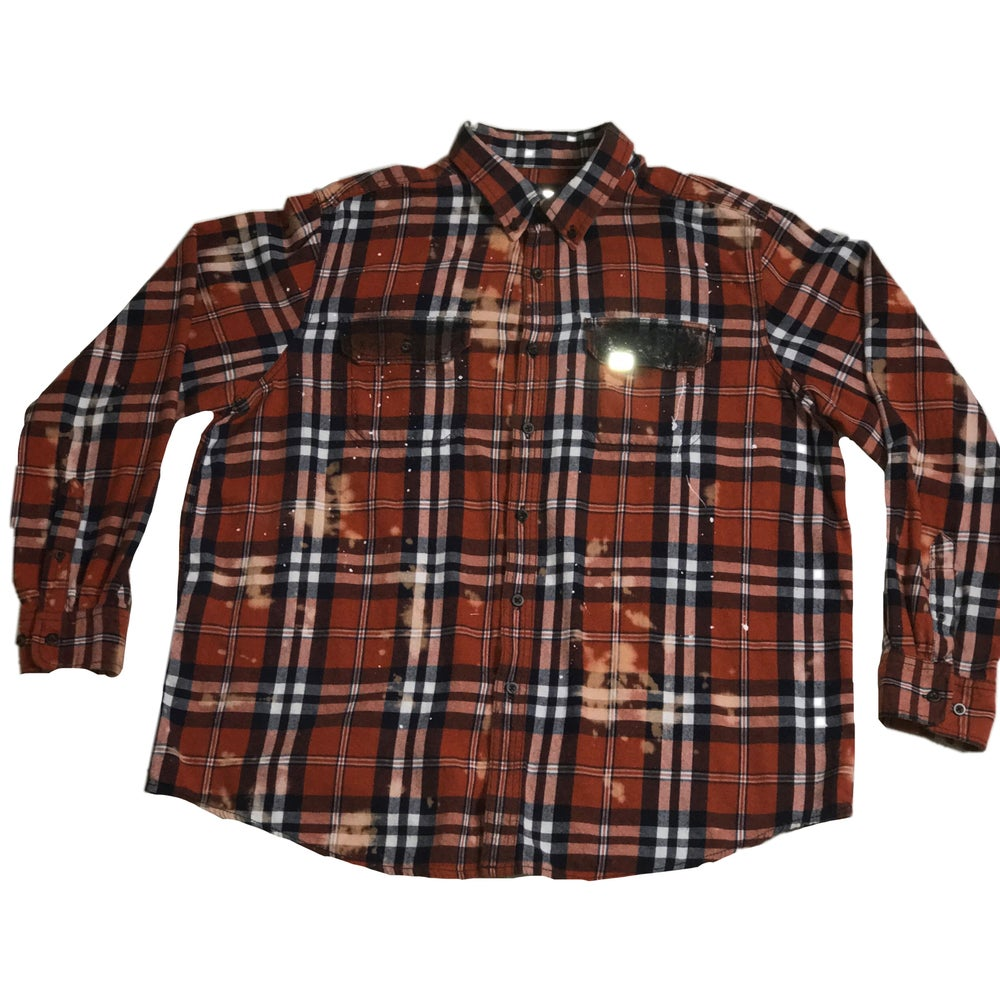 Image of CORRODED SOVIET FUSION FLANNEL