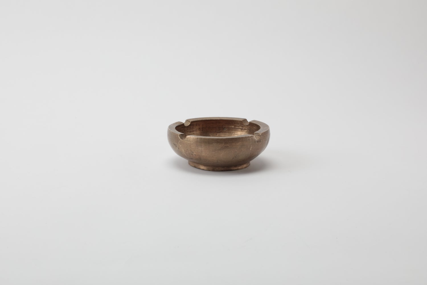 Image of DOME ASHTRAY BRASS
