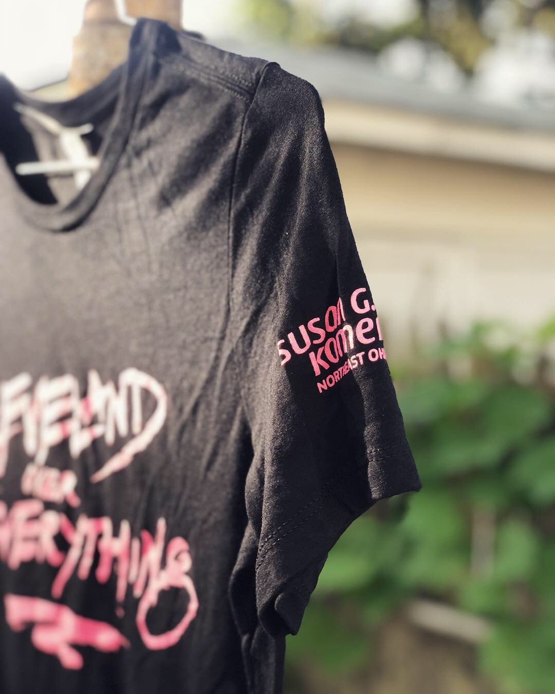 Image of Cleveland Over Everything T-Shirt (Pink Edition)