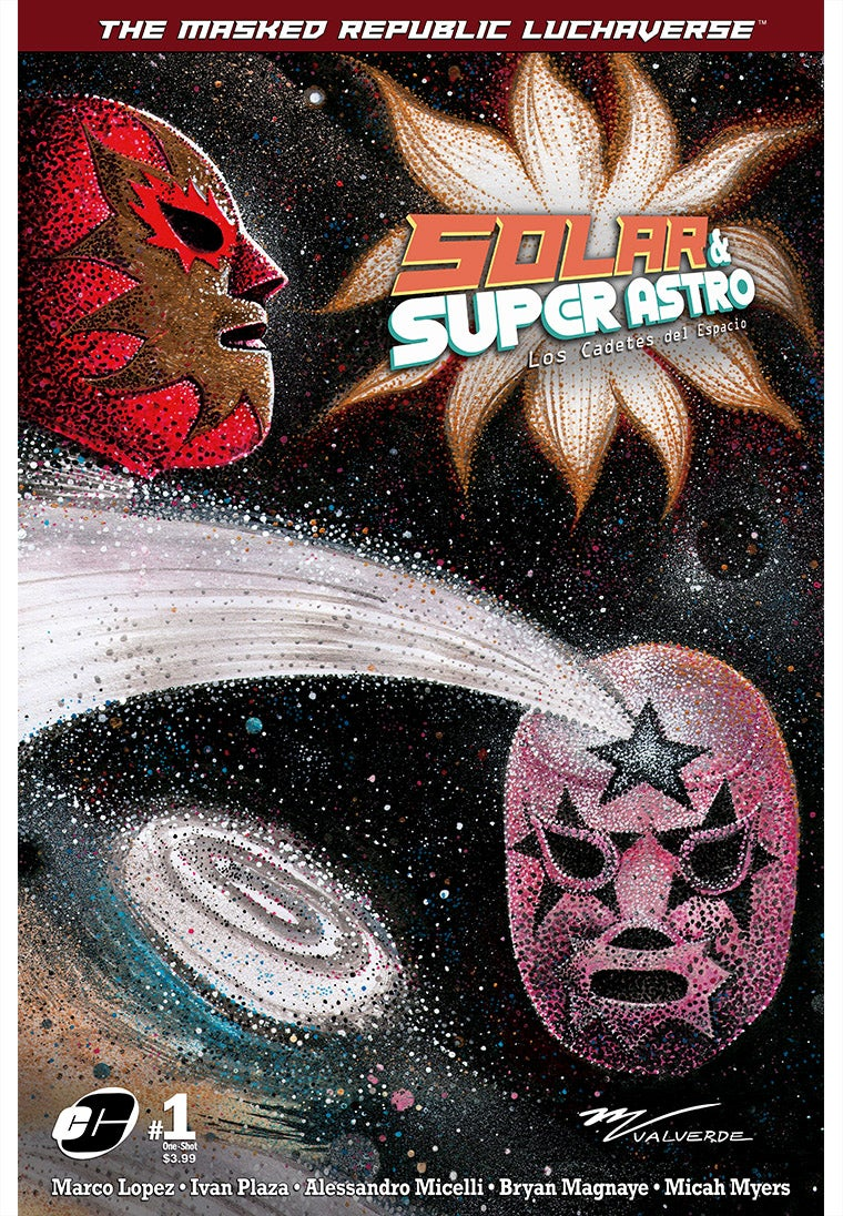 Image of Masked Republic Luchaverse: Solar & Super Astro #1 One-Shot - Valverde Var (Ltd. 350)