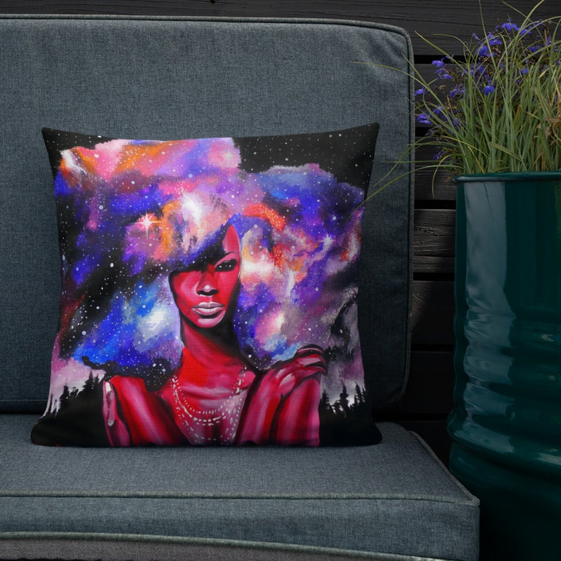 Image of Star Goddess - Throw Pillow