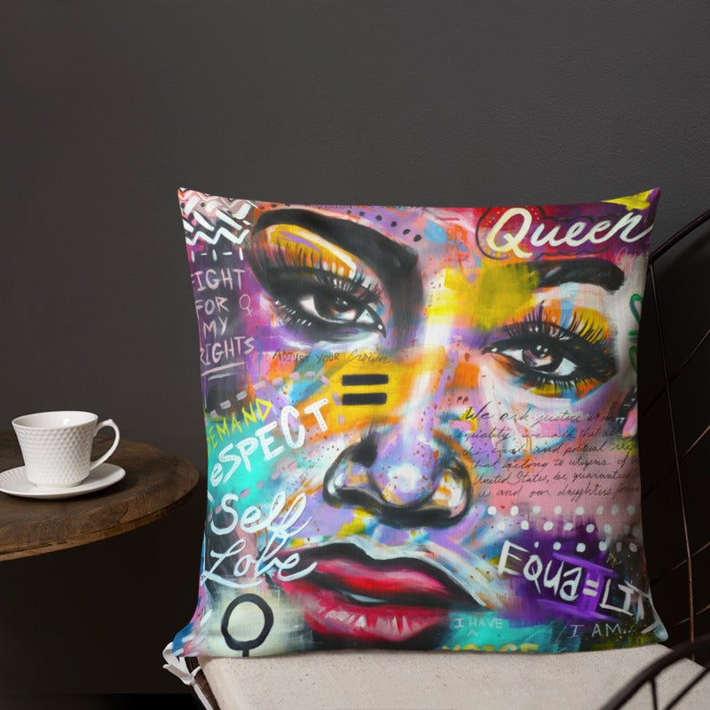Image of I Have A Voice - Throw Pillow