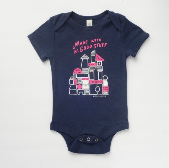 Image of THE GOOD STUFF babies' bodysuit