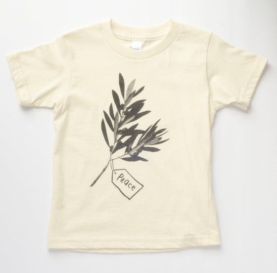 Image of PEACE kids' tee - Organic
