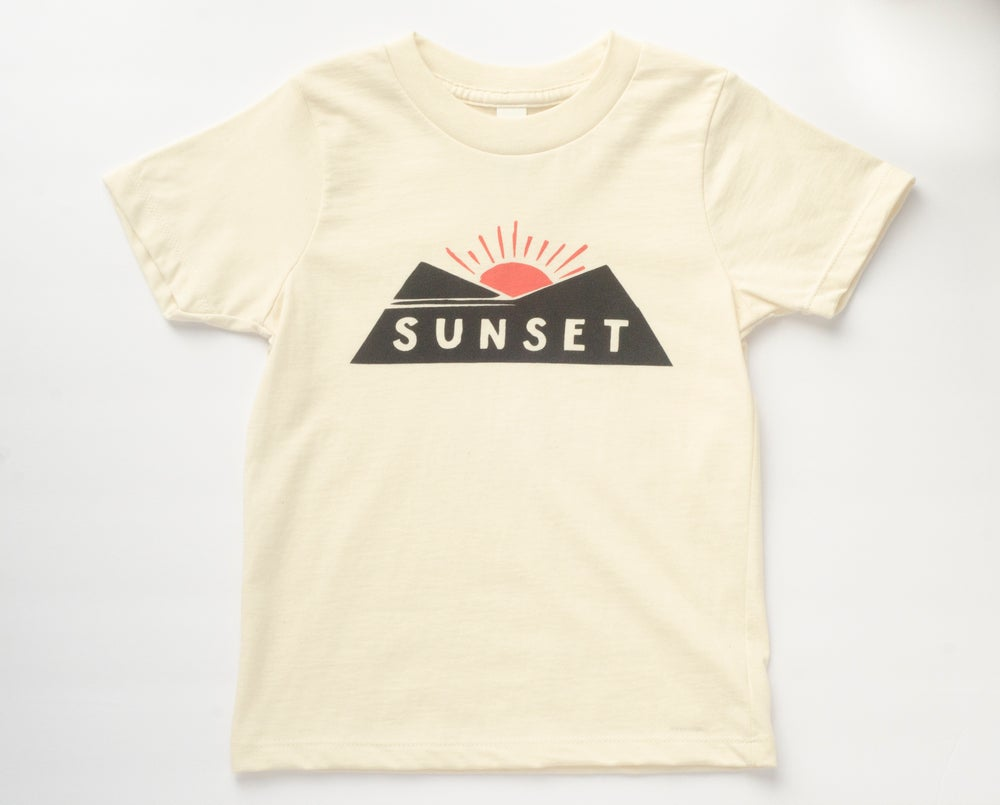 Image of SUNSET kids' tee - Organic