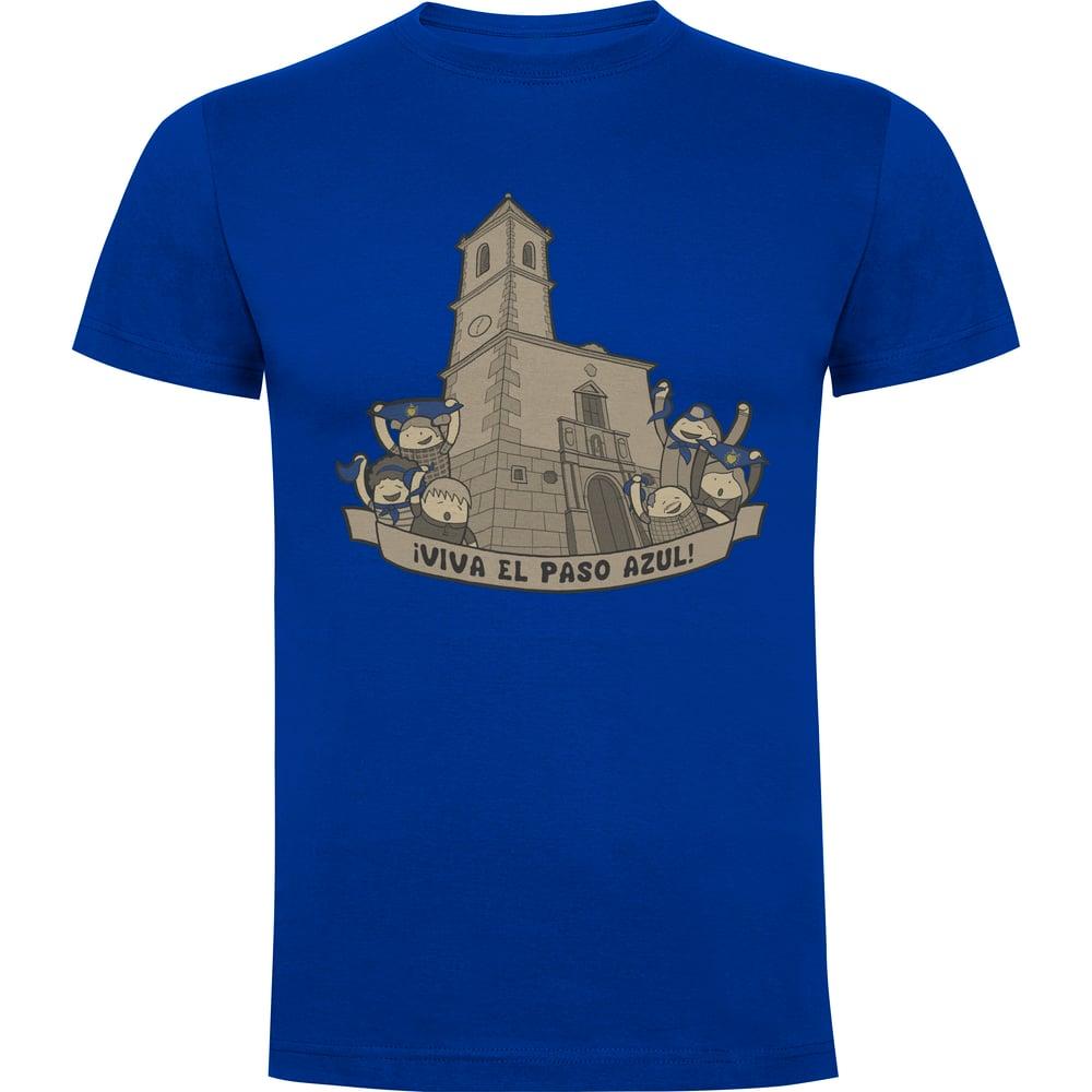 Image of Camiseta Hombre Paso Azul Lorca