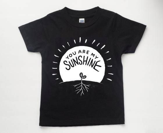 Image of YOU ARE MY SUNSHINE! kids' tee