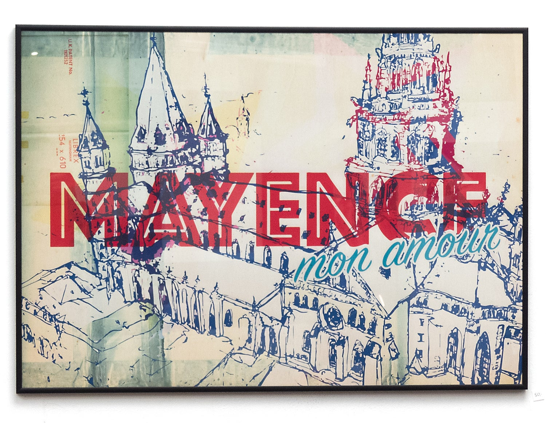 Image of Mayence Mon Amour Plakat