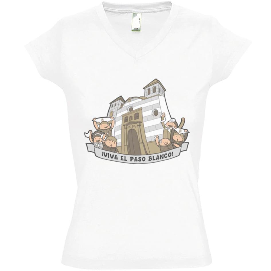 Image of Camiseta de mujer Paso Blanco Lorca