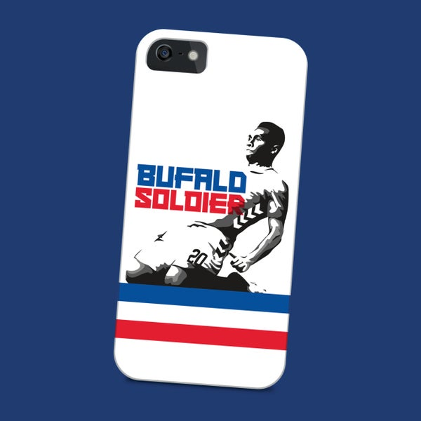 Image of Bufalo Soldier phone case