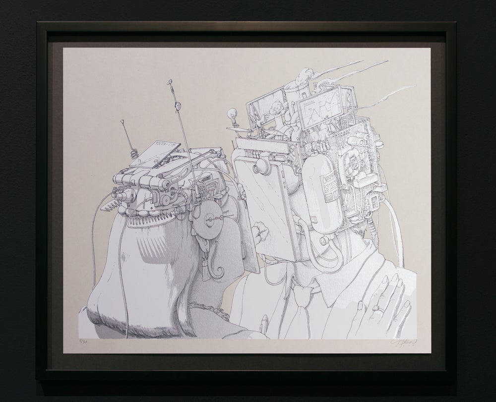 Image of LIQEN - THE KISS (WHT/SLV) | SIGNED EDITION