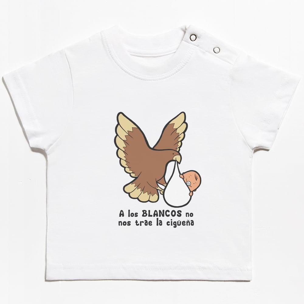 Image of Camiseta bebe unisex águila Paso Blanco Lorca