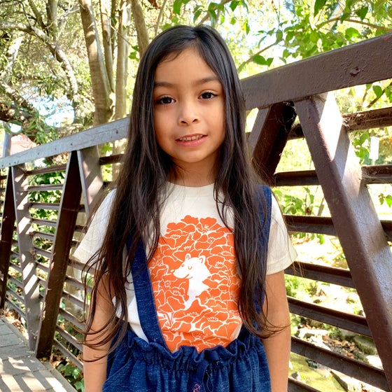 Image of POPPY BEAR kids' tee - Organic
