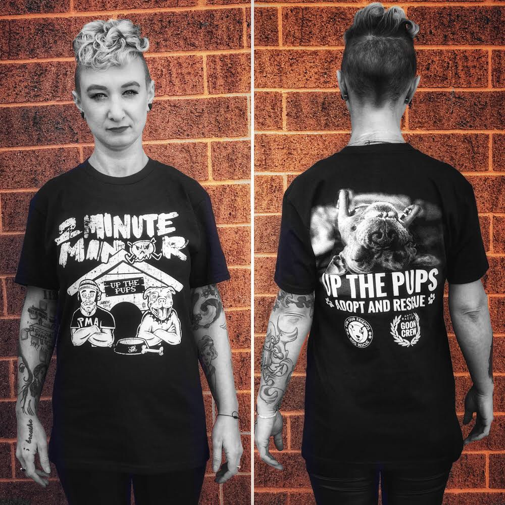 """Image of """"UP THE PUPS"""" T-Shirt"""