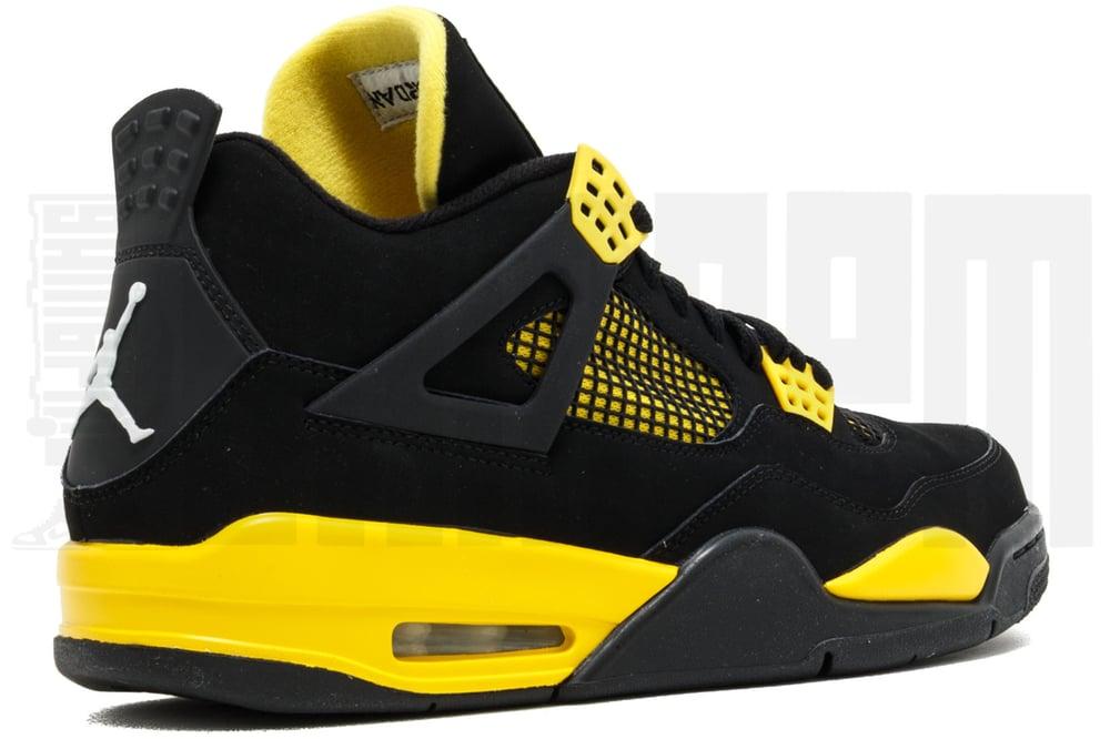"Image of Nike AIR JORDAN 4 RETRO ""THUNDER"""