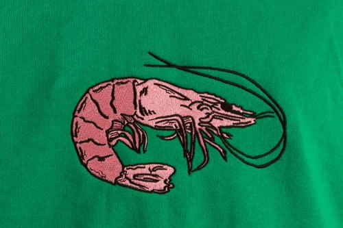 Image of prawn shop