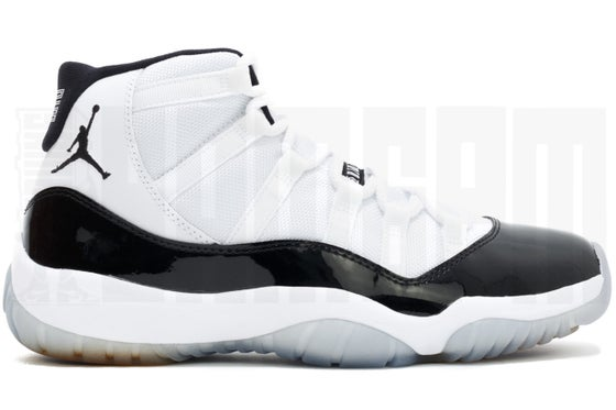 "Image of Nike AIR JORDAN 11 RETRO ""CONCORD"" 2011"