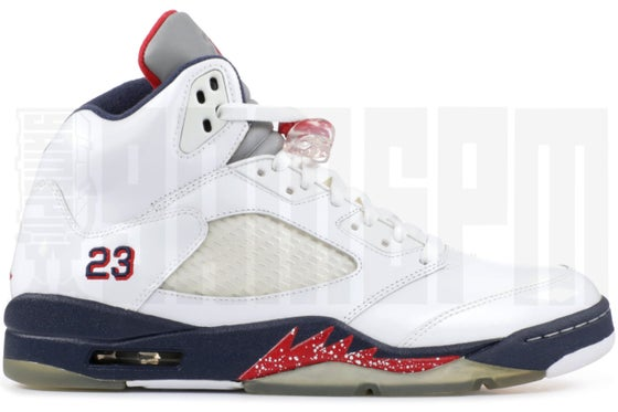 "Image of Nike AIR JORDAN 5 RETRO ""OLYMPIC"""