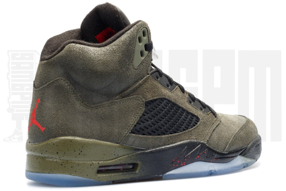 "Image of Nike AIR JORDAN 5 RETRO ""FEAR"""