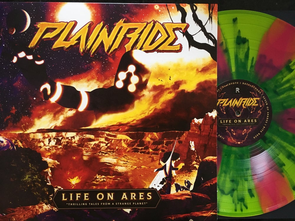"Image of Plainride - Life on Ares Limited Multi-colored""God of War"" Edition Vinyl"