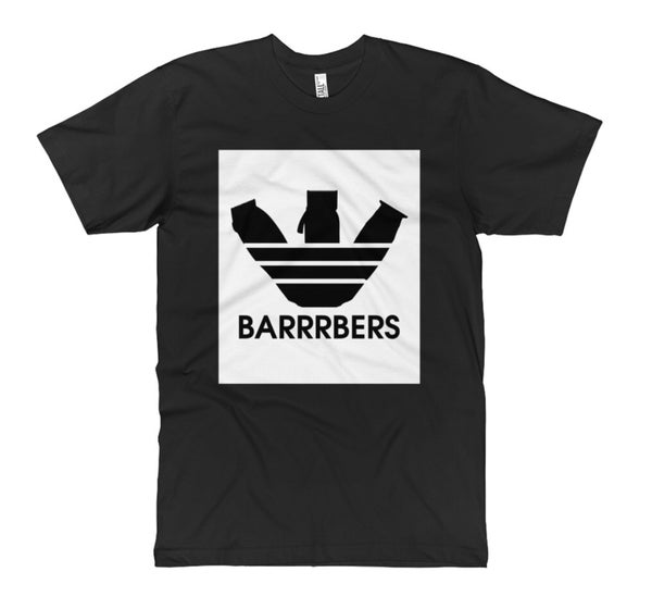 "Image of ""BARRRBERS"" Clippers T-Shirt!"