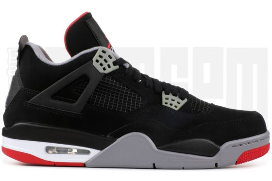 "Image of Nike AIR JORDAN 4 RETRO ""BRED"""